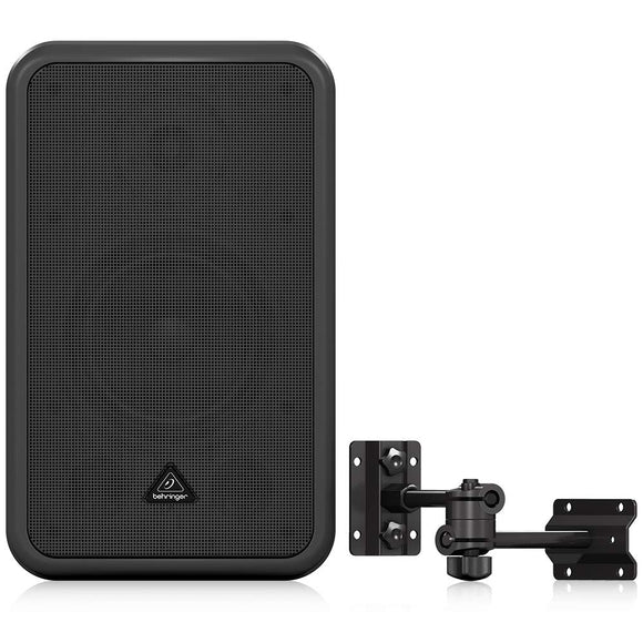 Behringer COMMERCIAL SOUND SPEAKER CE500A-BK High-Performance, Active 80-Watt Commercial Sound Speaker System