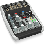 Behringer XENYX Q502USB Premium 5-Input 2-Bus Mixer with XENYX Mic Preamp & Compressor, British EQ and USB/Audio Interface