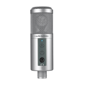 Audio Technica Side-address cardioid condenser microphone with USB digital output ATR2500
