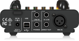 Behringer TUBE ULTRAGAIN MIC500USB Audiophile Vacuum Tube Preamplifier with Preamp Modeling Technology and USB/Audio Interface