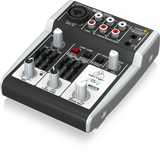 Behringer XENYX 302USB Premium 5-Input Mixer with XENYX Mic Preamp and USB/Audio Interface