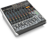 Behringer XENYX QX1622USB  Premium 16-Input 2/2-Bus Mixer with XENYX Mic Preamps & Compressors, KLARK TEKNIK Multi-FX Processor, Wireless Option and USB/Audio Interface