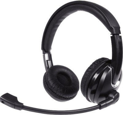 iBall USB Headphones for Call Centres Upbeat D3