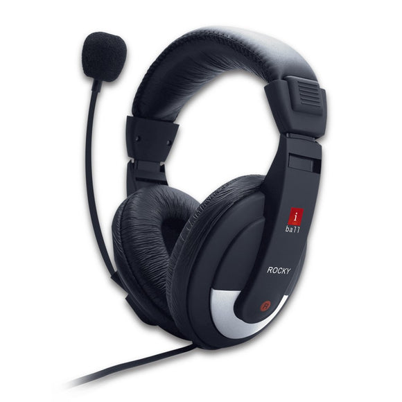 iball USB Call center Headphone Rocky
