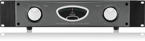 Behringer REFERENCE AMPLIFIER A500 Professional Reference-Class Studio Power Amplifier with output power ,2 x 300 Watts into 4 Ohms, 600 Watts into 8 Ohms in bridged mono operation.
