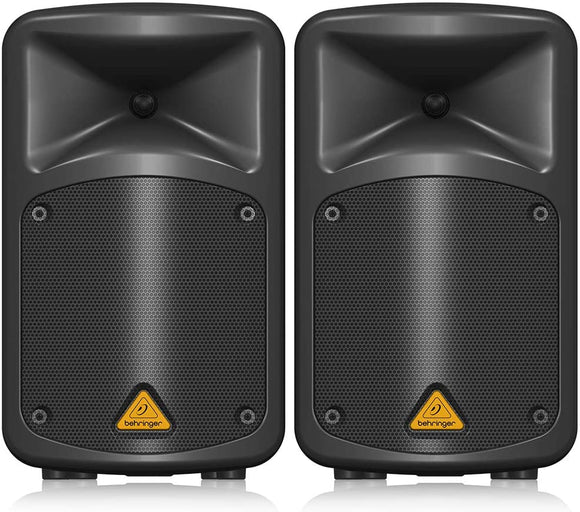 Behringer EUROPORT EPS500MP3 Ultra-Compact 500-Watt 8-Channel Portable PA System with MP3 Player, Reverb and Wireless Option