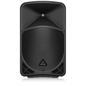 "Behringer EUROLIVE B 15X  1000 Watt 2 Way 15"" Powered Loudspeaker with Digital Mixer, Wireless Option, Remote Control via iOS* / Android* Mobile App and Bluetooth Audio Streaming"
