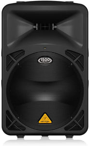 "Behringer B615D Active 2-Way 1500-Watt PA Speaker System with 15"" Woofer and 1.75"" Titanium Compression Driver"