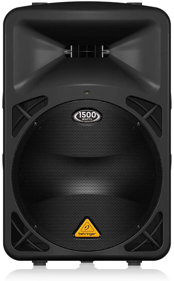 Behringer B615D Active 2-Way 1500-Watt PA Speaker System with 15