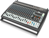 Behringer EUROPOWER PMP6000 1600-Watt 20-Channel Powered Mixer with Dual Multi-FX Processor and FBQ Feedback Detection System