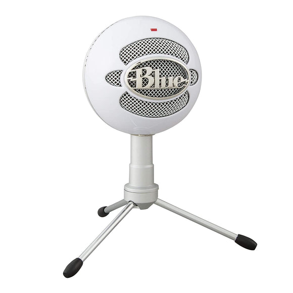 Blue Snowball iCE USB Mic for Recording and Streaming on PC and Mac, Cardioid Condenser Capsule, Adjustable Stand, Plug and Play