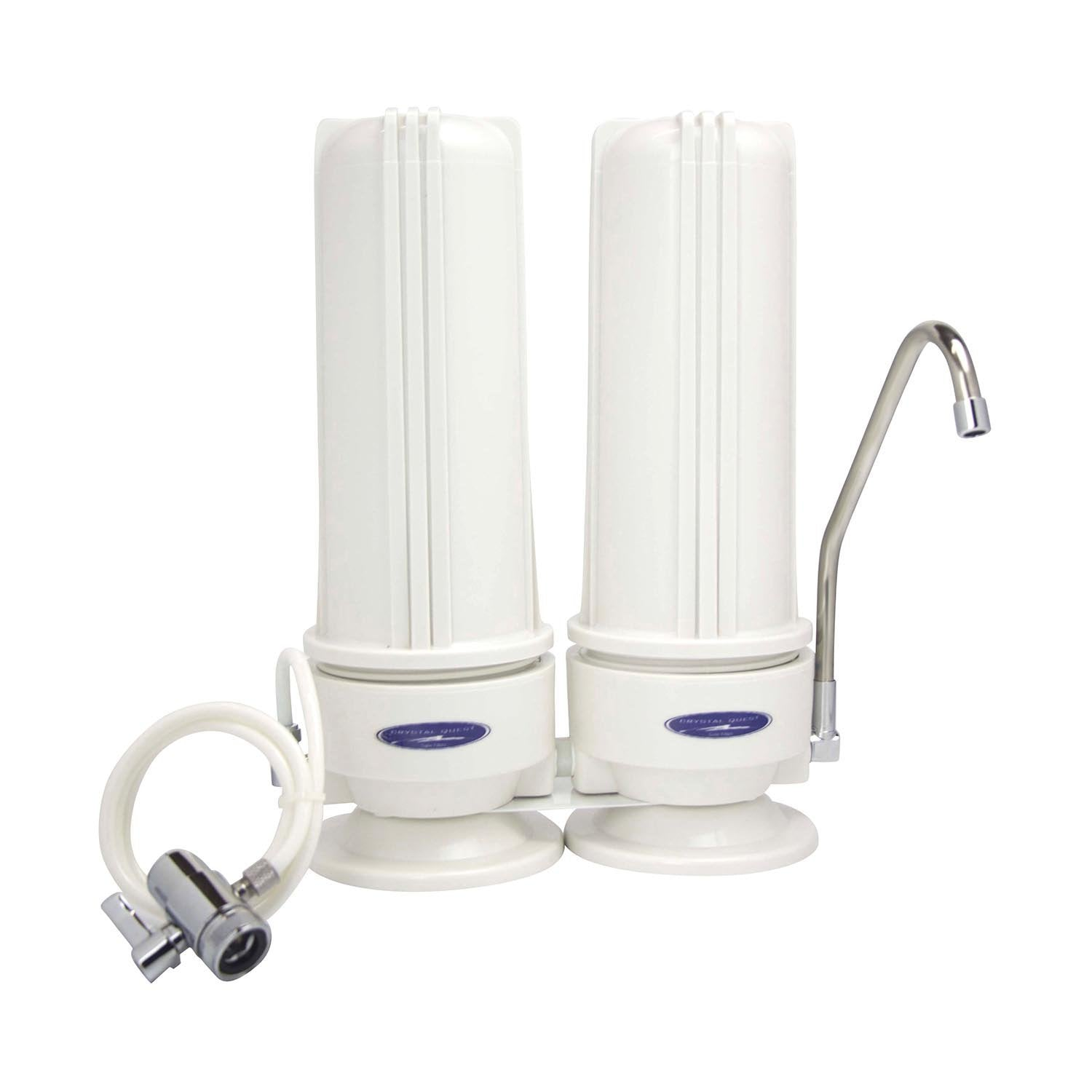 aq water drinking countertop reviews aquasana countertops white systems attached filter