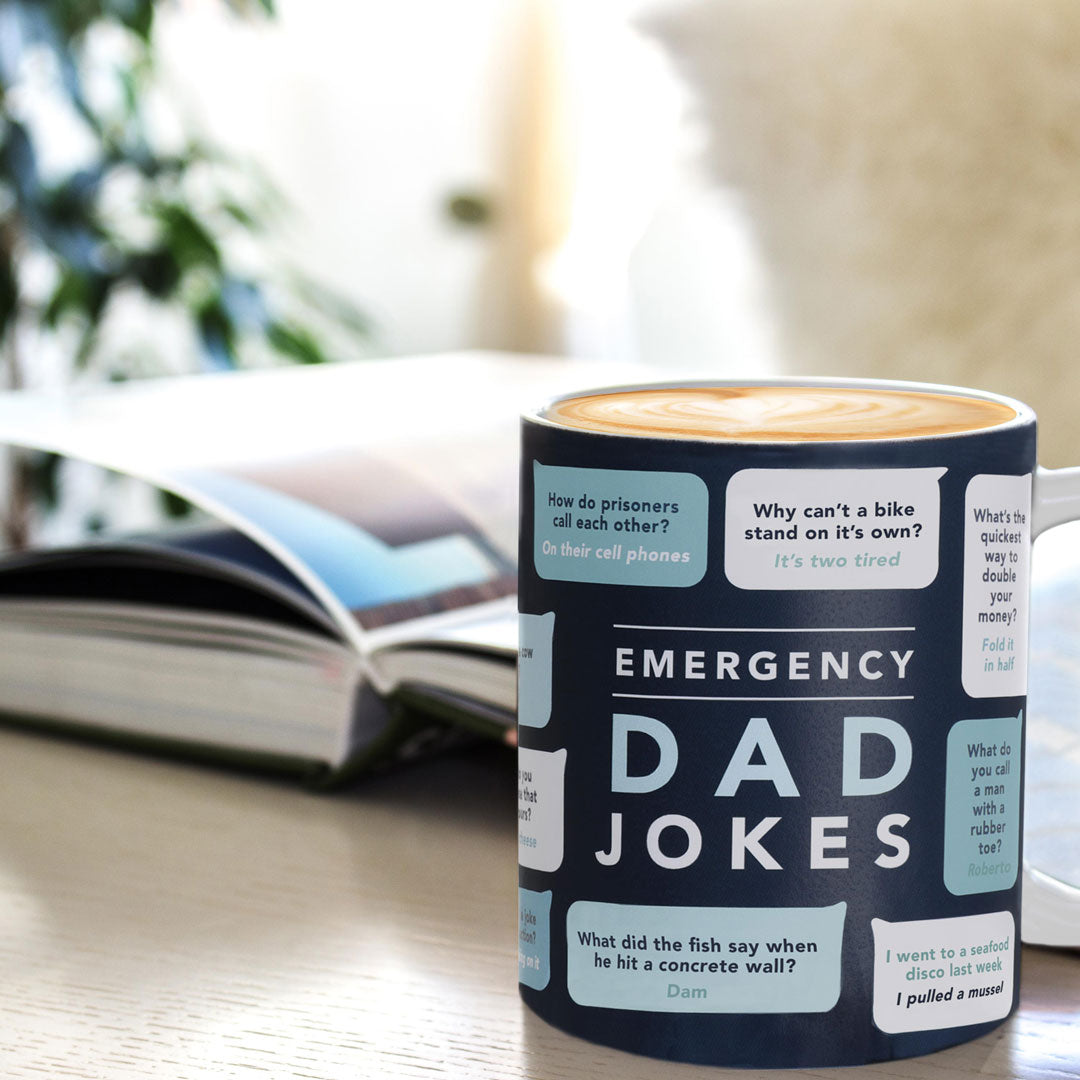 Fathers Day 2018 Gift Ideas - Dad Jokes Mug