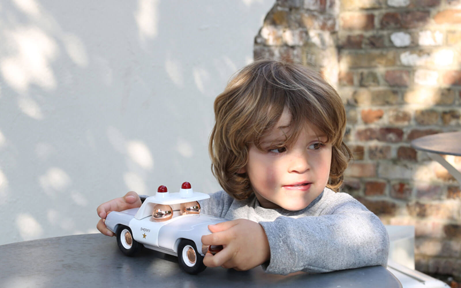 Child with playfoever car funky gifts for kids