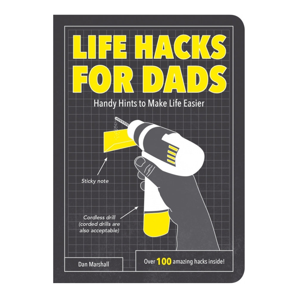 Life Hacks For Dads Gift Book
