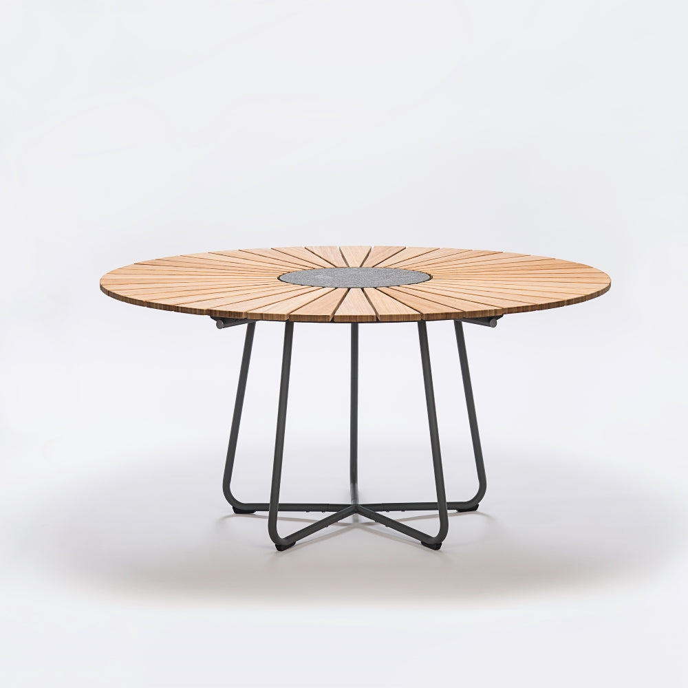 DANISH DESIGN CIRCLE Outdoor Table 150cm