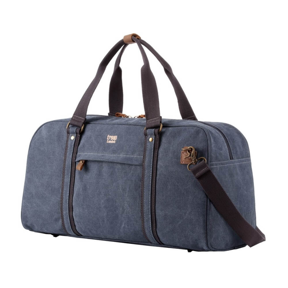 Troop Explorer Holdall Weekend Bag - Blue