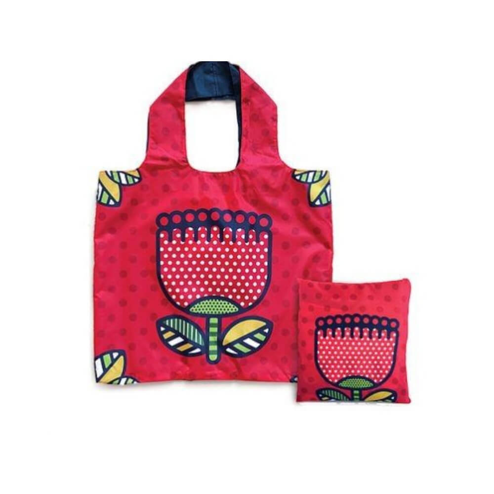 Reusable Carry Bag - Pop Pohutukawa
