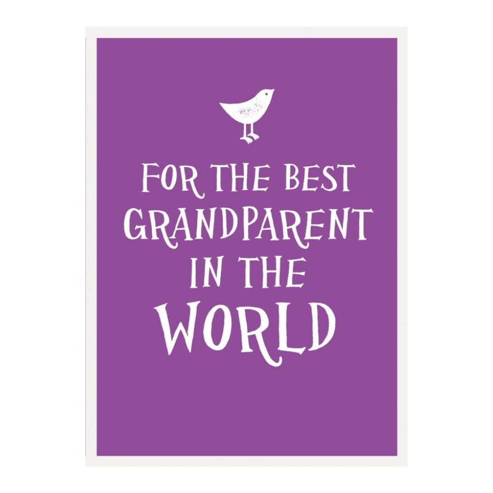 For the Best Grandparent Gift Book