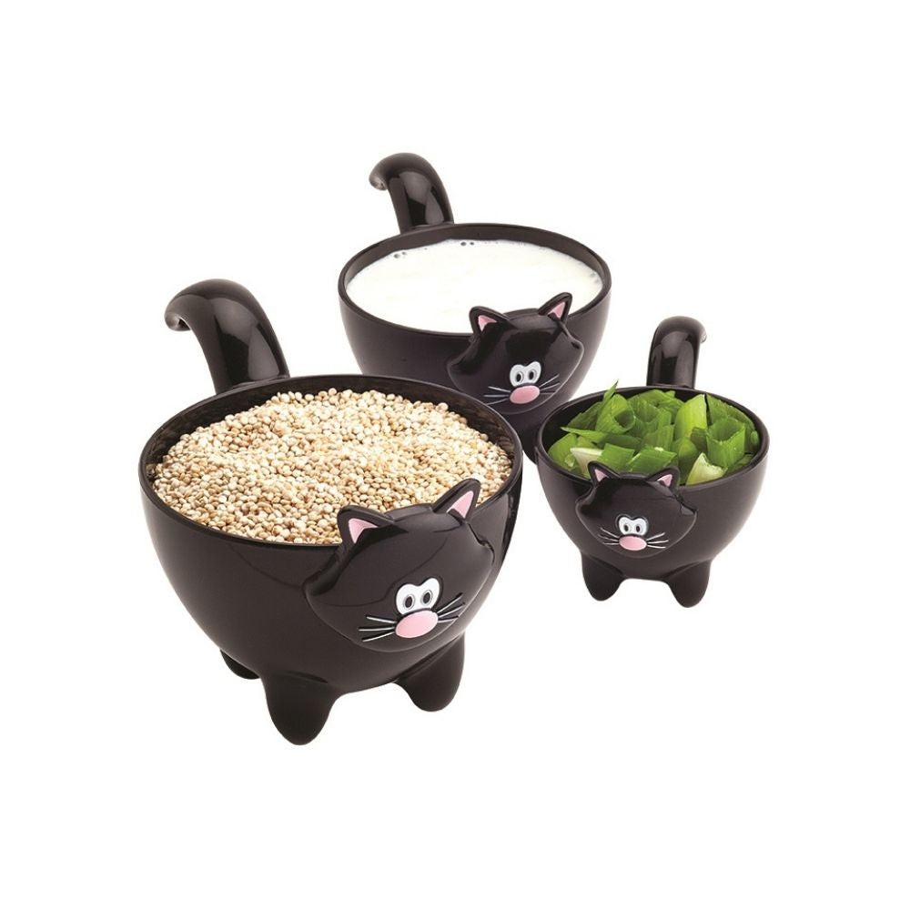 Meow measuring cups