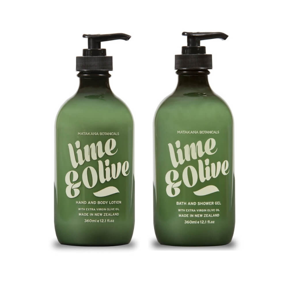 Matakana Botanicals Provincial Lime & Olive Gift Pack