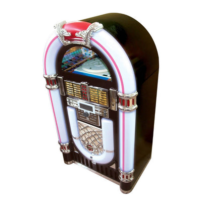 JUKEBOX - Bluetooth Jukebox With Record Player & CD