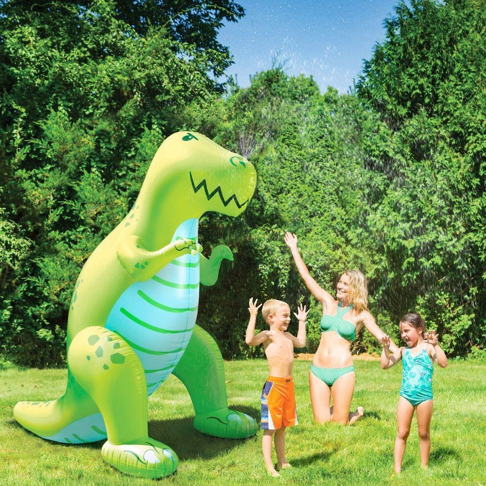 Ginormous Dinosaur Sprinkler FUnky Gifts New Zealand 6ft tool yard sprinkler