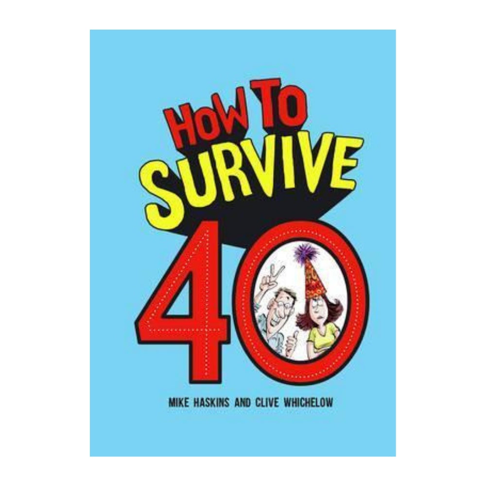 How to Survive 40 Gift Book