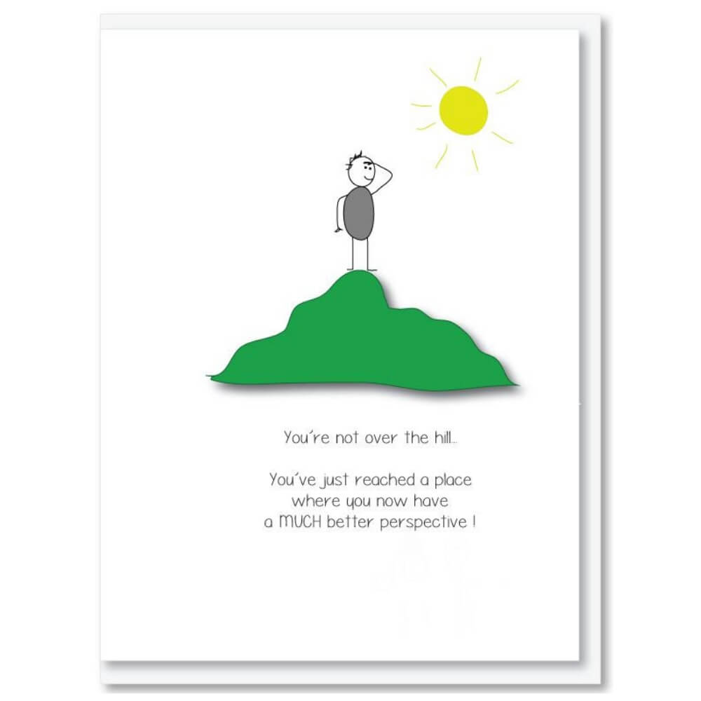 NZ MADE GREETING CARD - Perspective