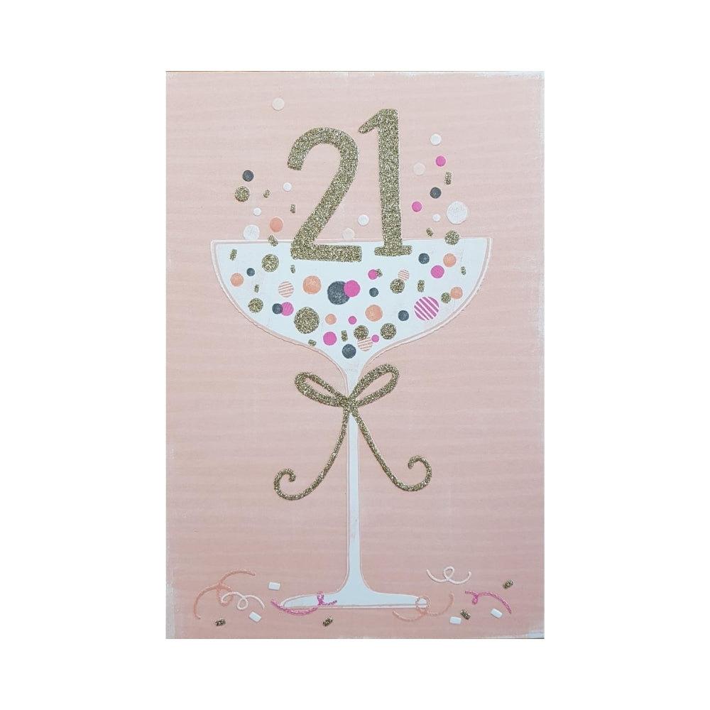 21 Birthday Card from Funky Gifts NZ