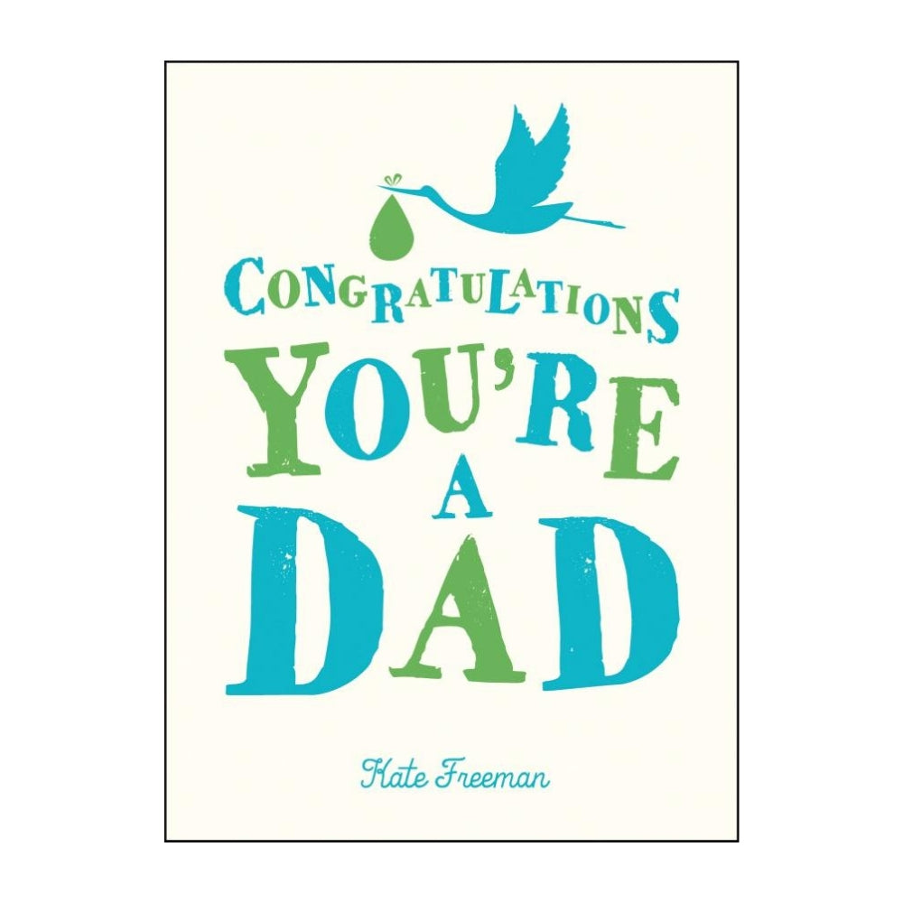 Congratulations You're a Dad Gift Book