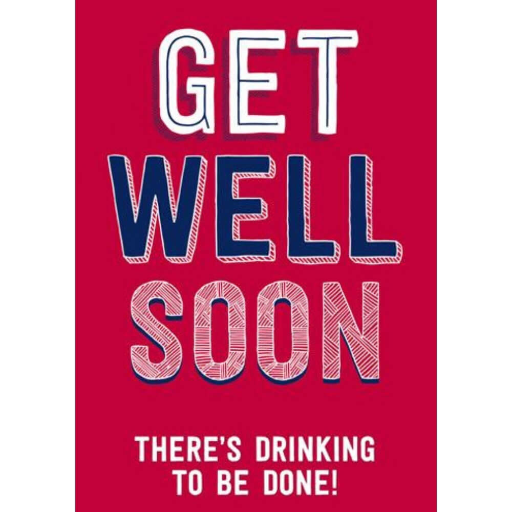 Greeting Card - Get Well