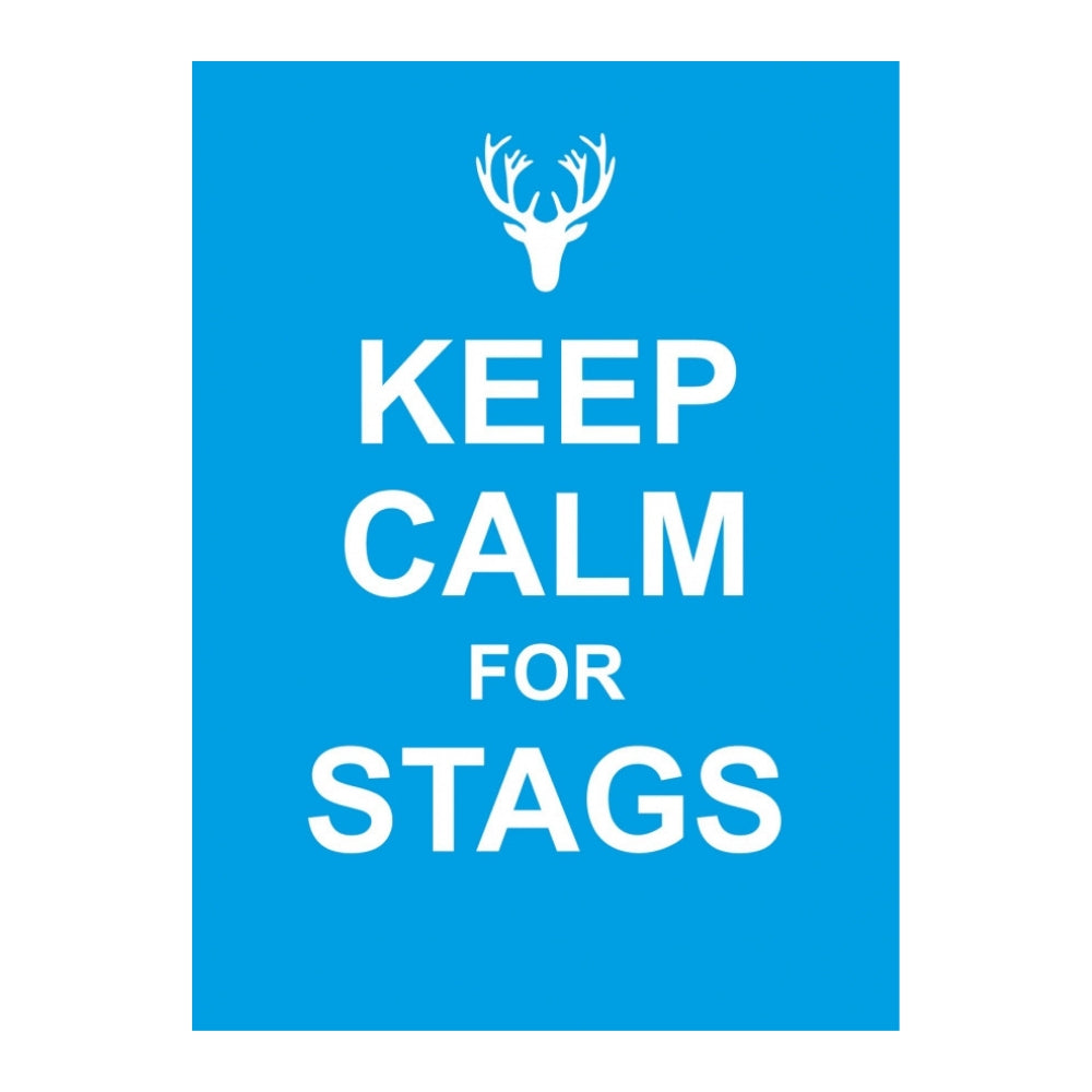 Keep Calm For Stags Gift Book