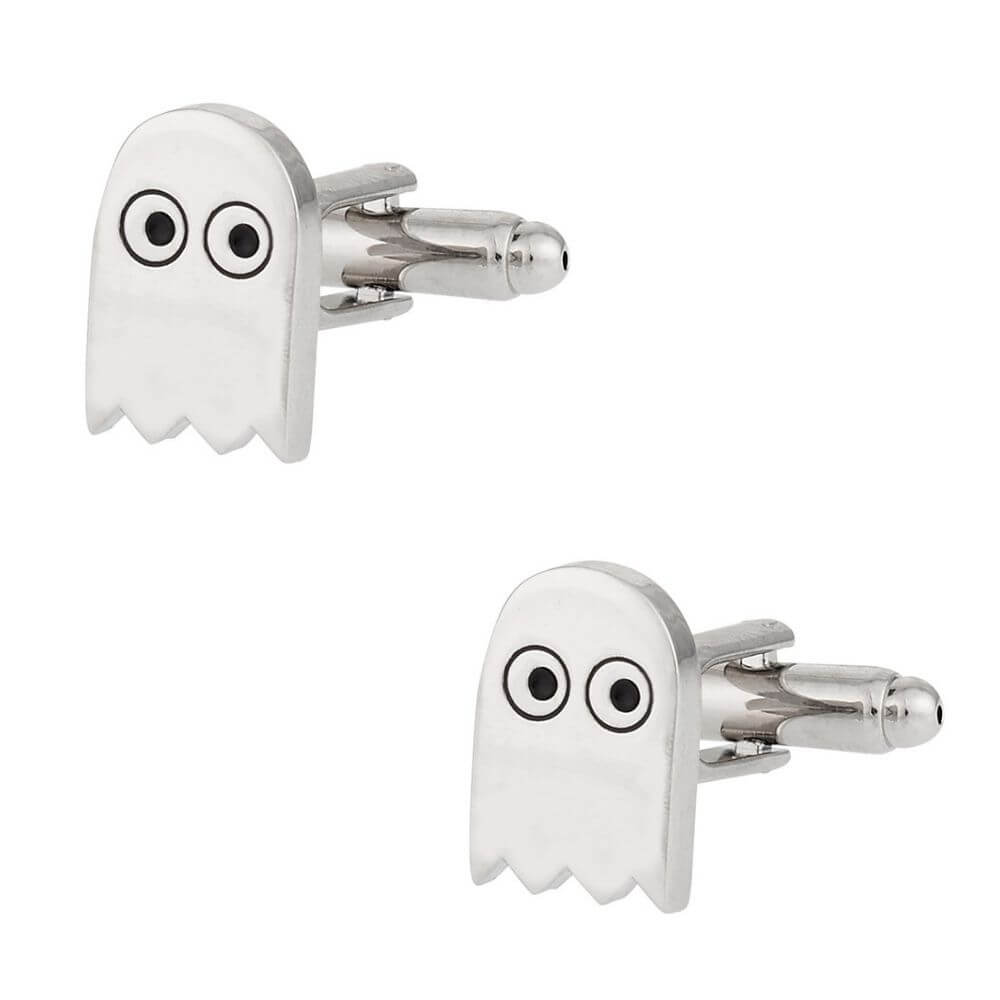 Designer Cufflinks - Pac-man Ghost