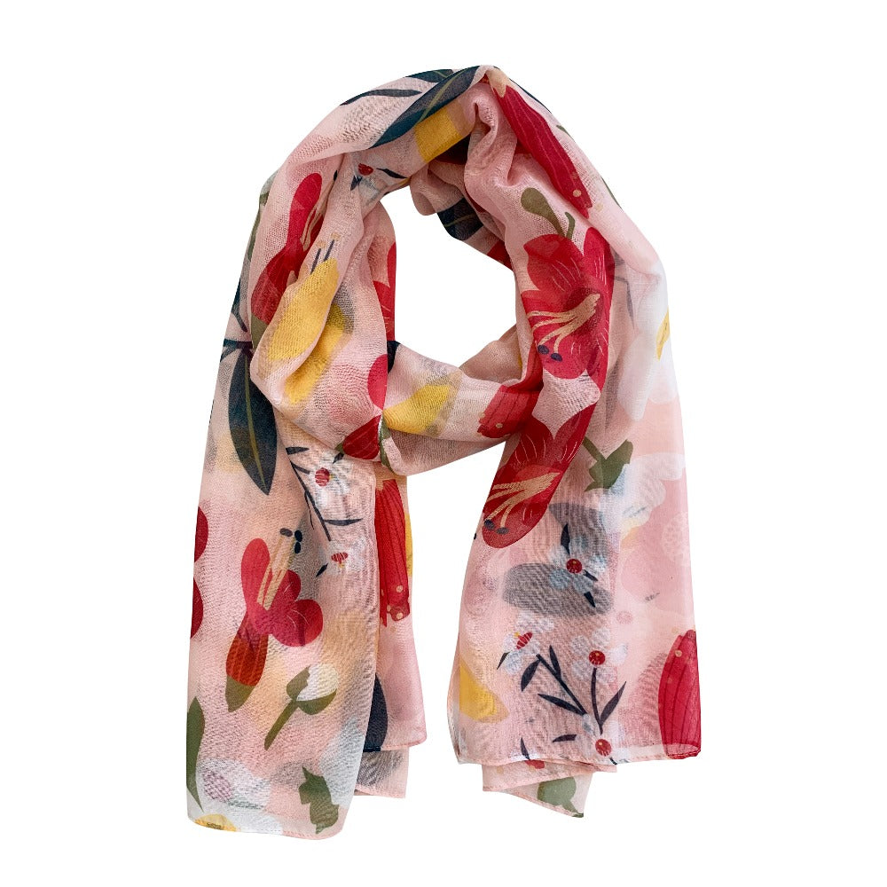 Aotearoa Bloom Scarf from Funky Gifts NZ