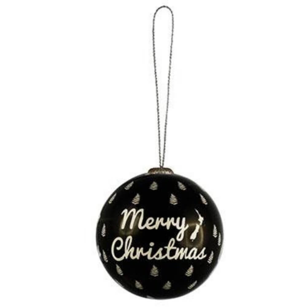 Xmas Ball Merry Xmas NZ Hanging Decoration