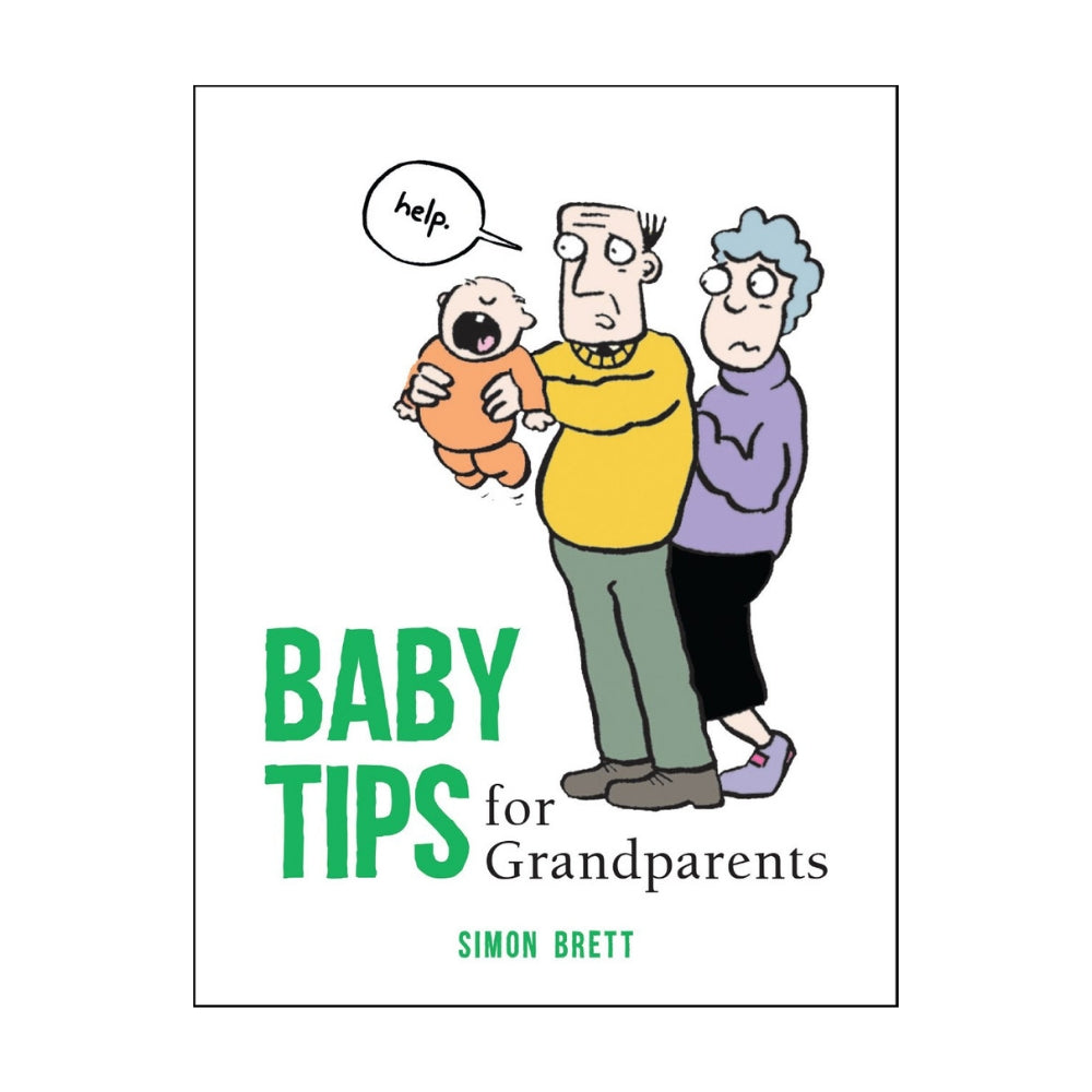 Baby Tips For Grandparents Gift Book
