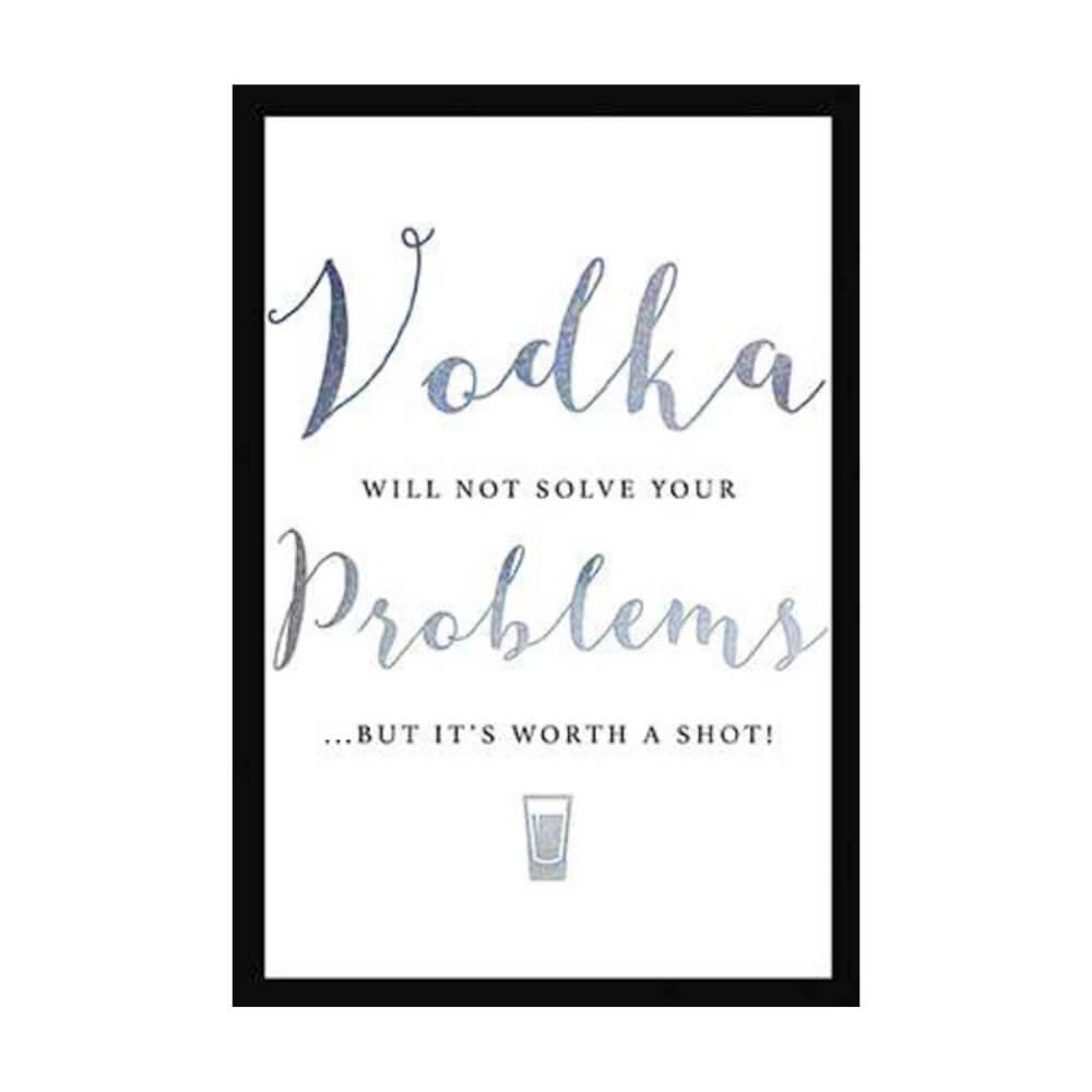 Greeting Card- Vodka Problems