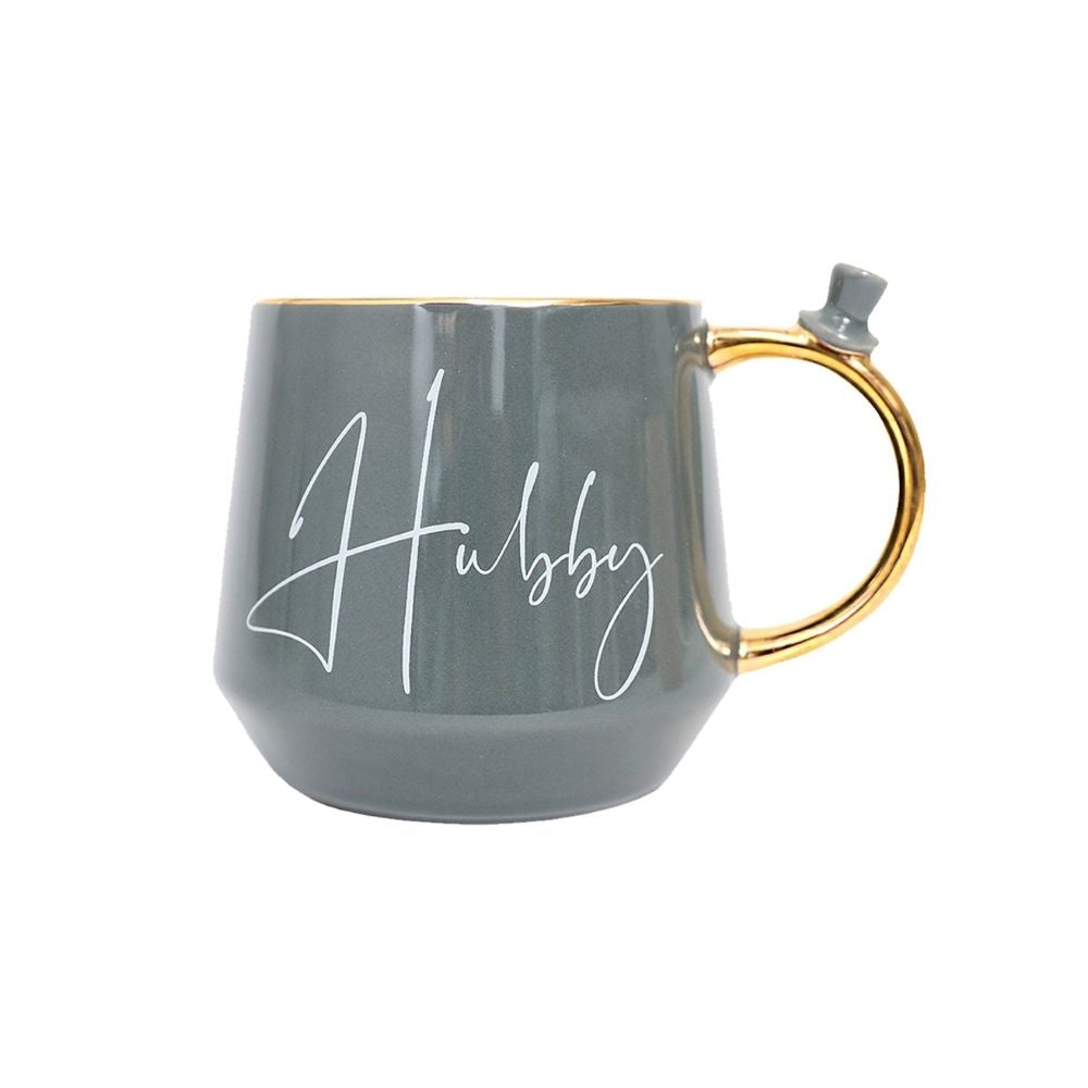 Hubby mug from funky gifts nz