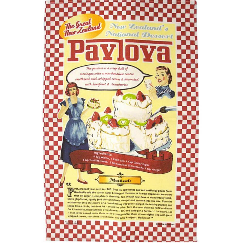 Pavlova Tea Towel