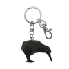 Key Ring 3D Kiwi Black