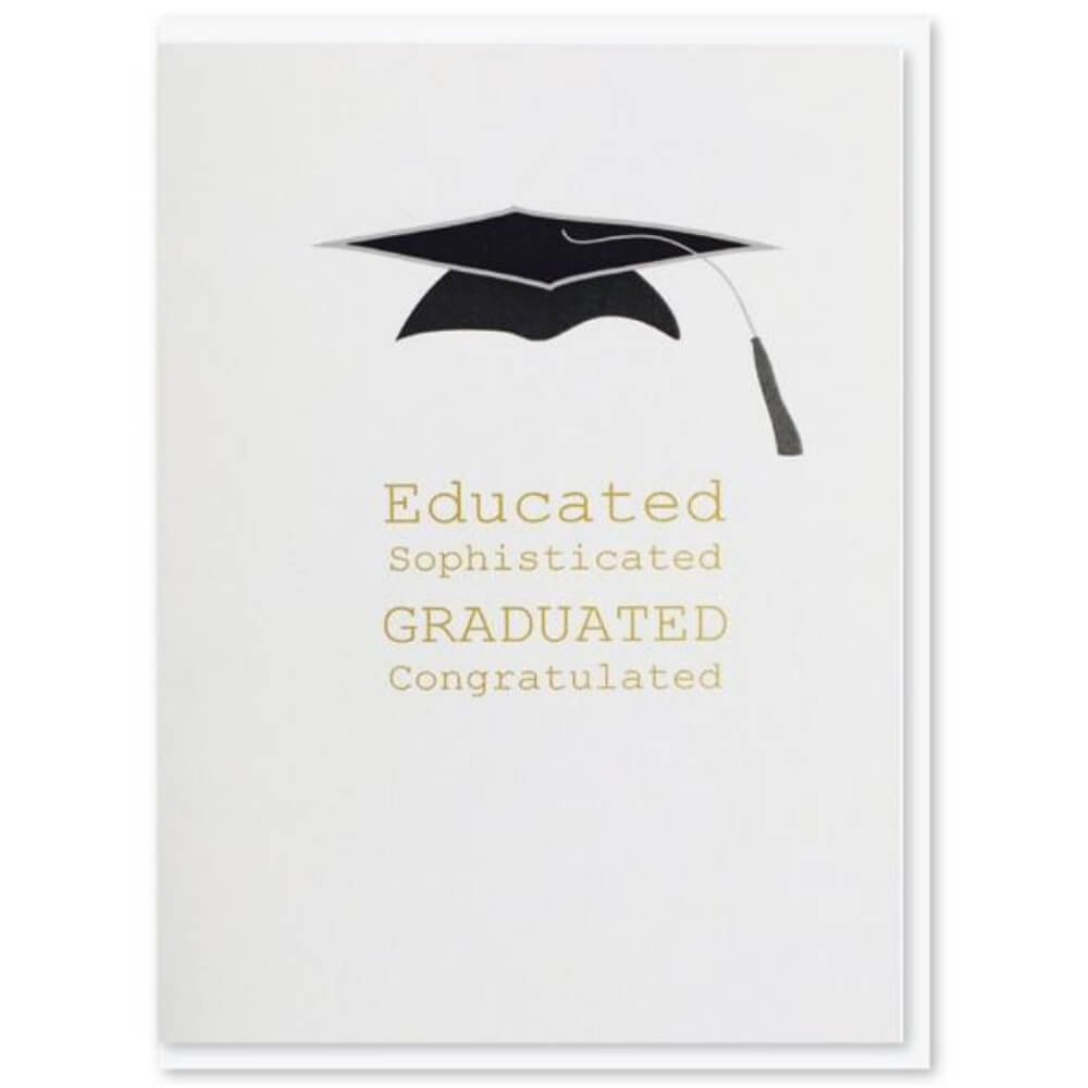 NZ MADE GREETING CARD - Graduation