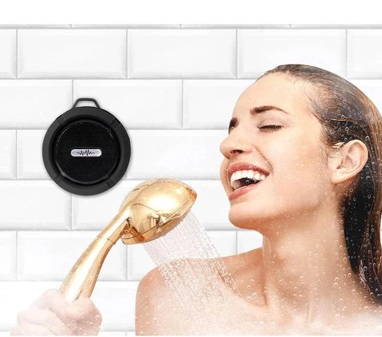 Wireless Shower Speaker with Radio