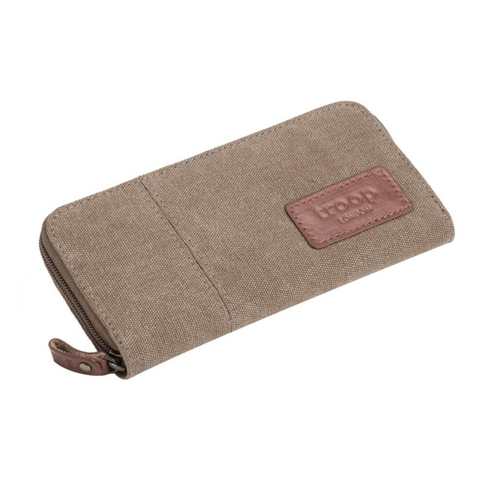 Troop London Keystone Long Canvas Wallet