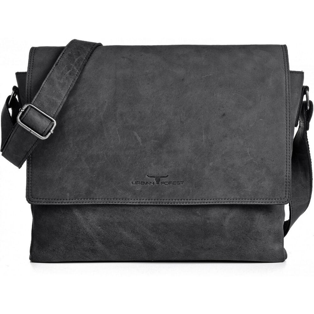 Urban Forest Lancelot Satchel Bag - Black