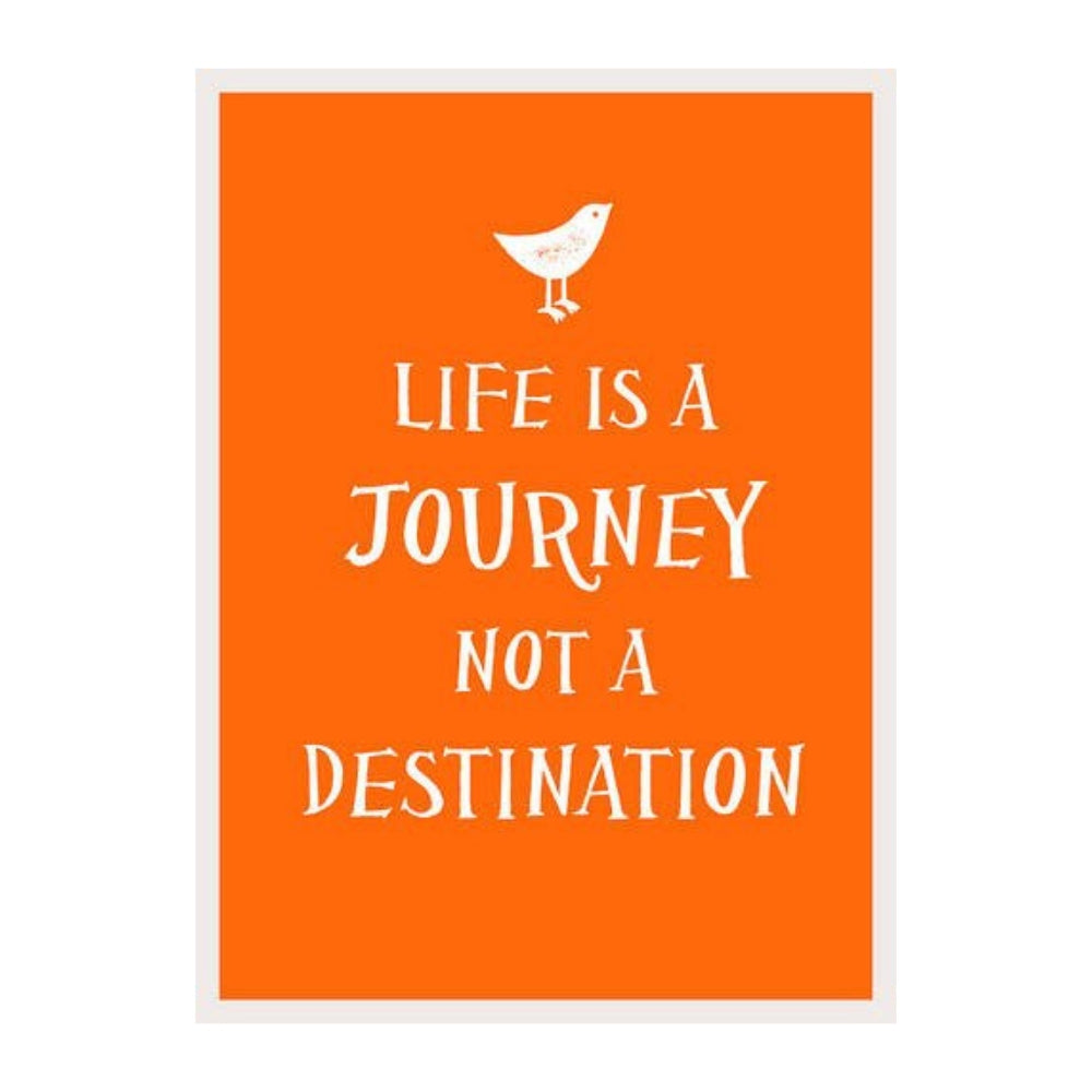 Life is a Journey Gift Book