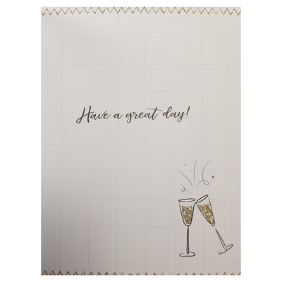 Giant Greeting Card Happy Birthday to you Have a great day  Funky Gifts NZ