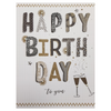 Giant Greeting Card Happy Birthday to you Funky Gifts NZ