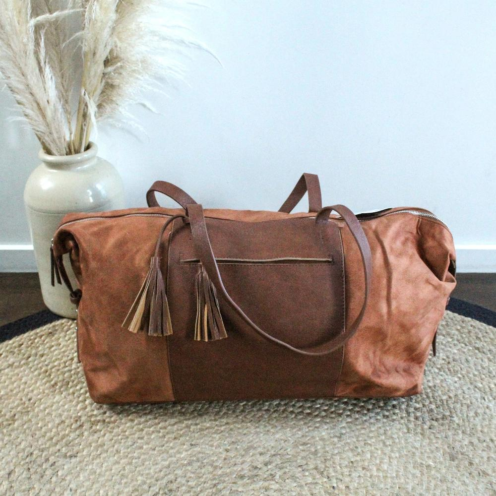 Akaroa Overnighter Bag - Tan Moana Road Leather