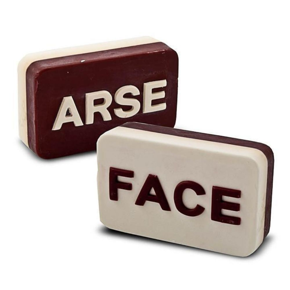 Arse/Face Novelty Soap